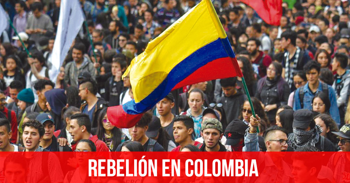 rebelion en colombia